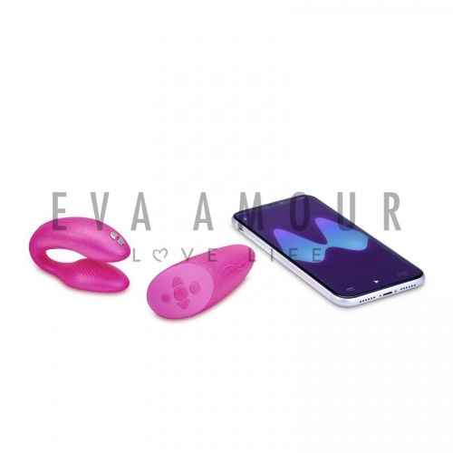 We-Vibe Chorus Couples Vibrator Cosmic Pink
