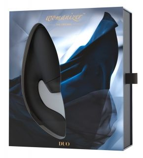 Womanizer Duo Clitoral Stimulator Black Gold