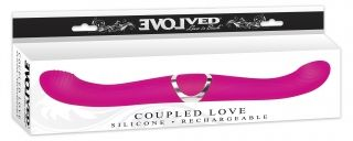 Coupled Love Rechargeable Double-Ended Dildo