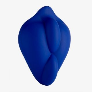 Bumpher Stimulating Strap-On Dildo Base Blue