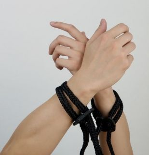 Silk Rope Double Wrist Cuffs