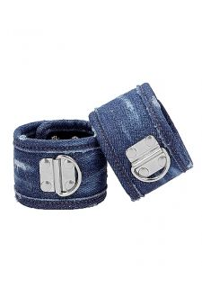 Denim Wrist Cuffs
